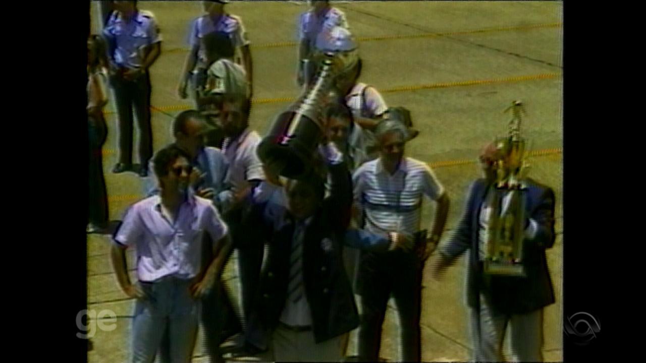 Com Koff na presidência, Grêmio é campeão do Mundial de Clubes em 1983