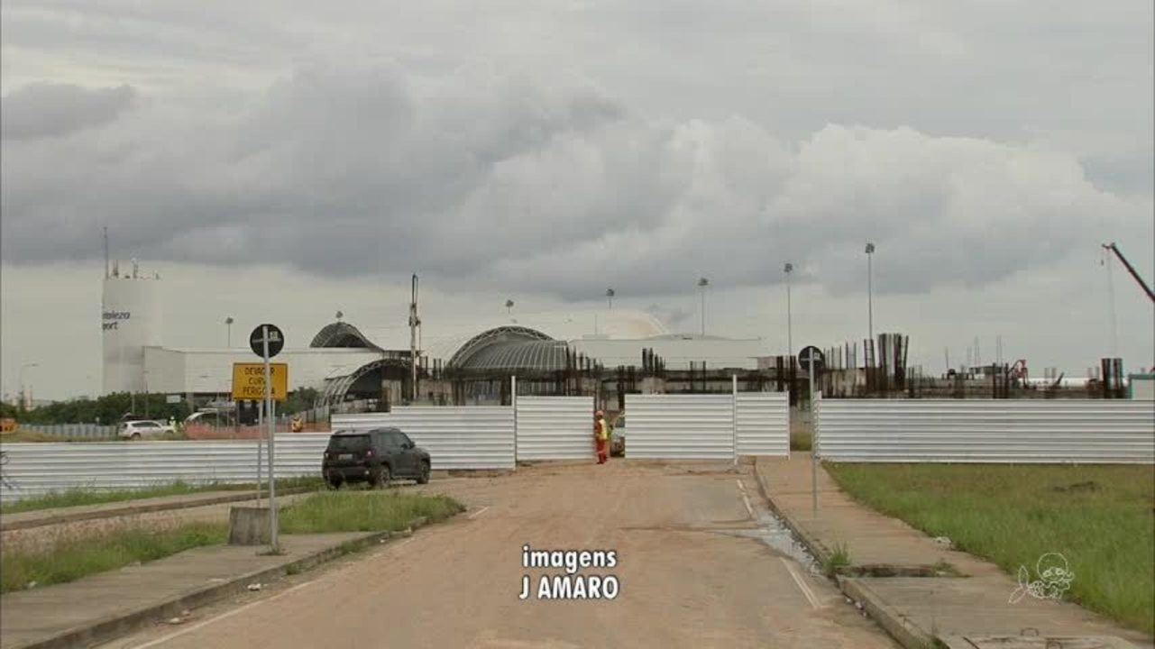 Começa a reforma no Aeroporto Pinto Martins