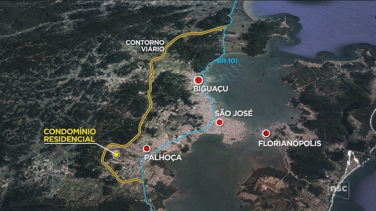Prazo para entrega do contorno viário da Grande Florianópolis é prorrogado para 2022