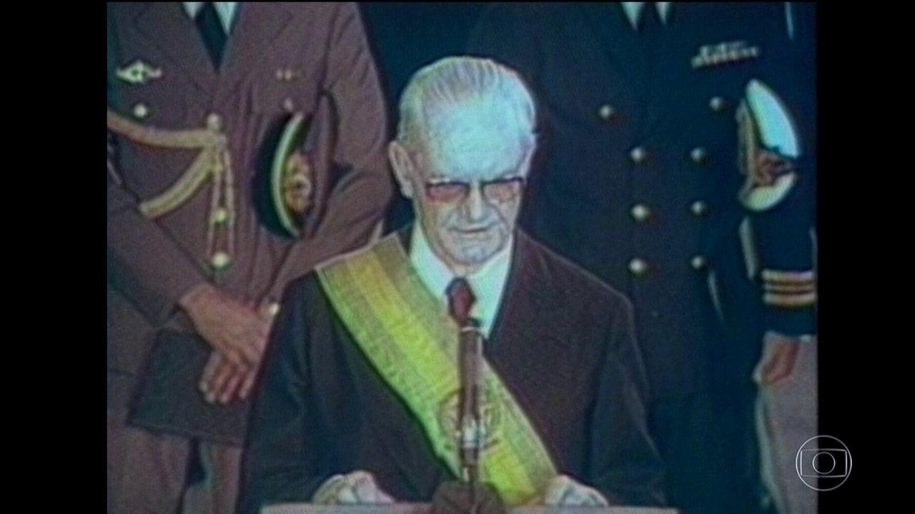 Documento da CIA diz que o ex-presidente Ernesto Geisel manteve a política de execuções