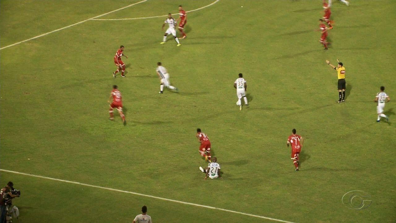 CRB empata com o Ceará no primeiro jogo das quartas de final da Copa do Nordeste