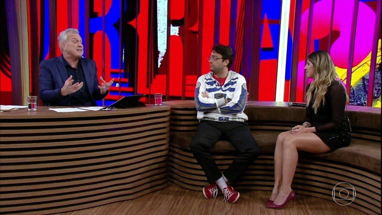Fernando Caruso e Dani Calabresa falam sobre os personagens mais interpretados no Zorra