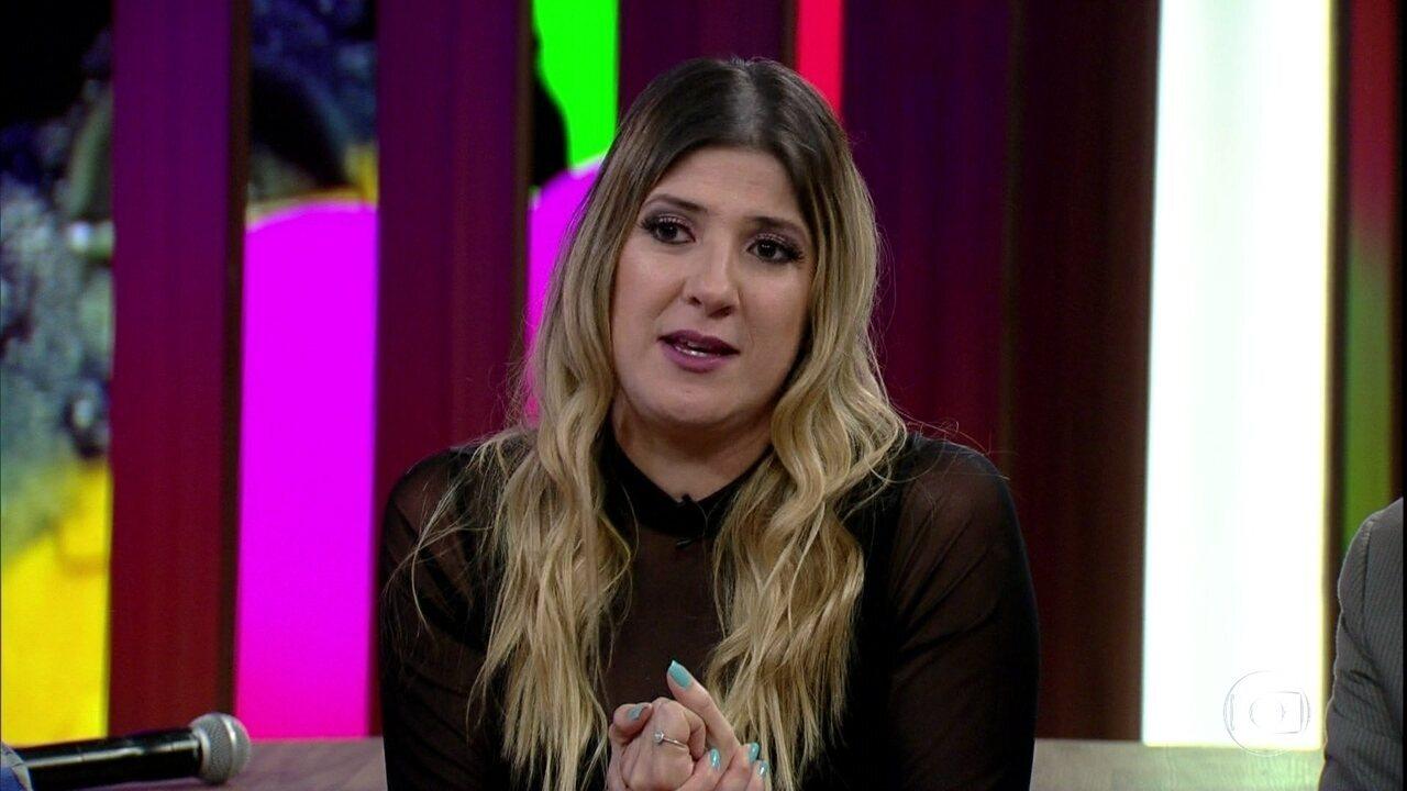 Dani Calabresa relembra seu passado profissional antes de se tornar atriz