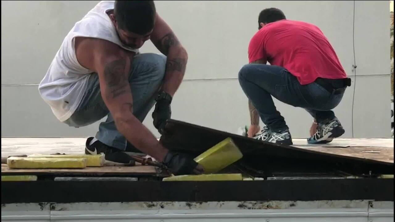 Polícia Civil apreende 2 toneladas de maconha no RJ
