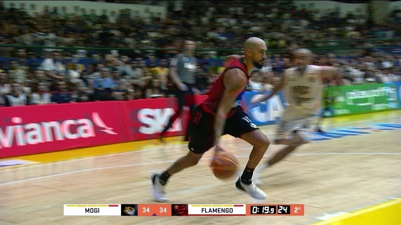 41f7a10dec1 Melhores momentos  Mogi 89 x 72 Flamengo pelos playoffs do NBB