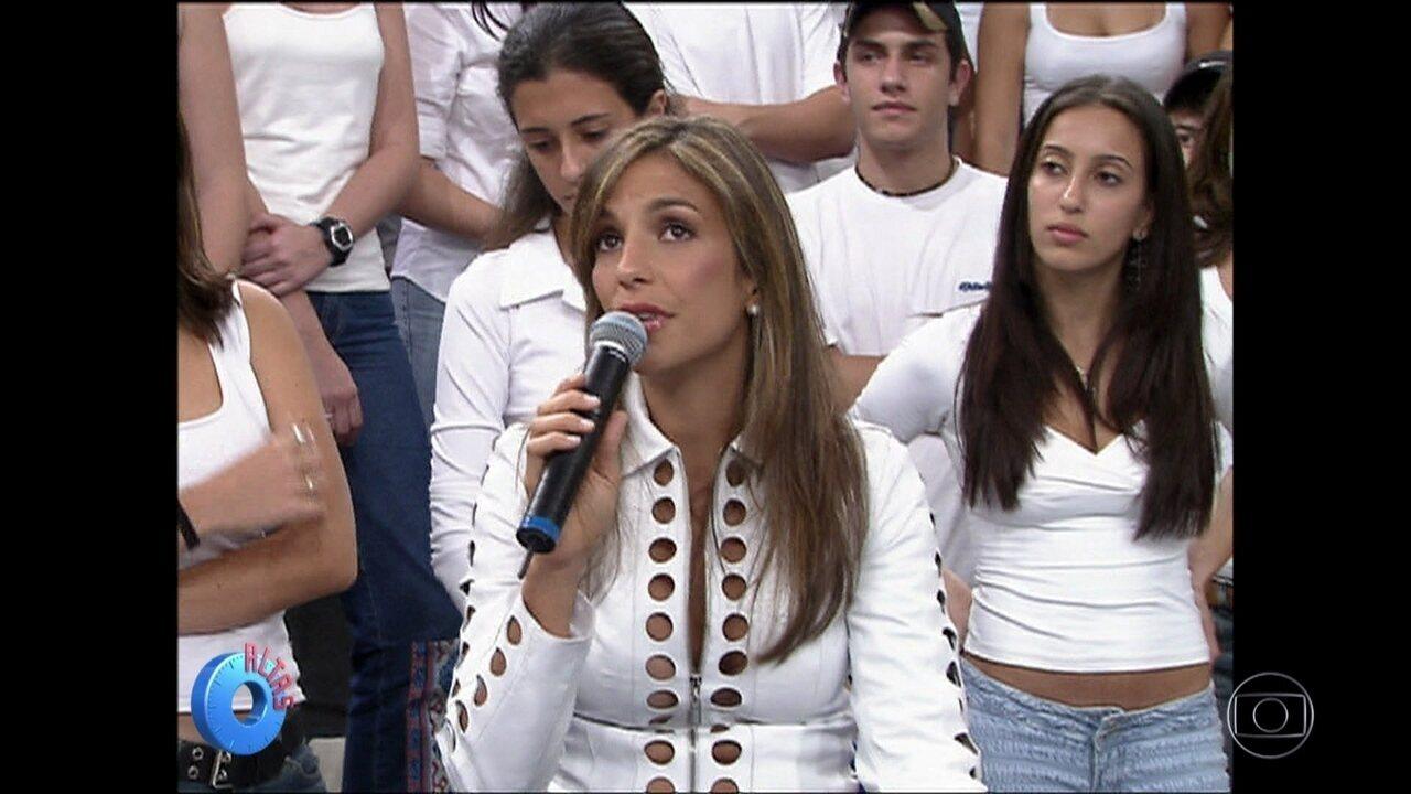 'Altas Horas' mostra vídeo especial para Ivete Sangalo