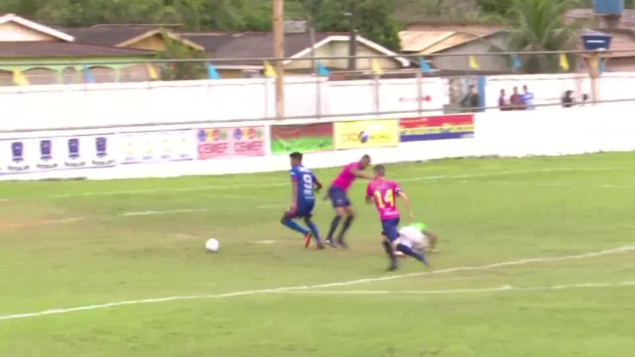Plácido de Castro vence com gol no fim e segue na briga por vaga na 2ª fase da Série D