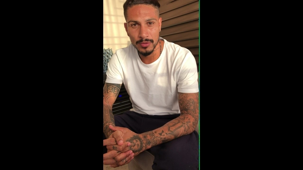 Guerrero agradece o apoio dos torcedores e fala sobre a punição que o tirou da Copa