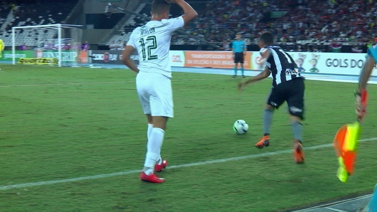 ffcef703dc03e Melhores momentos de Botafogo 2 x 1 Fluminense pela 5ª rodada do Campeonato  Brasileiro