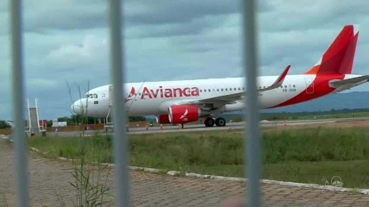 Avião com destino a Fortaleza teve que fazer pouso de emergência no Cariri
