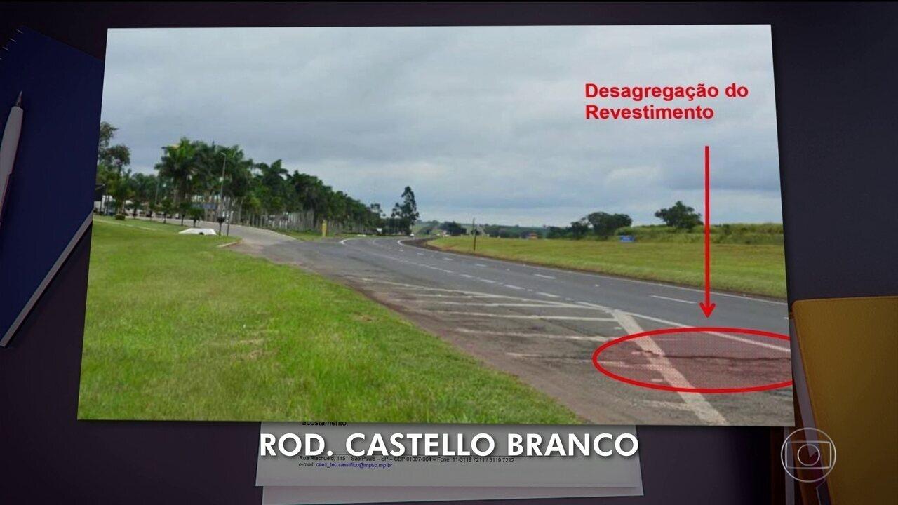 Relatório do Ministério Público de São Paulo mostra irregularidades em estradas do estado