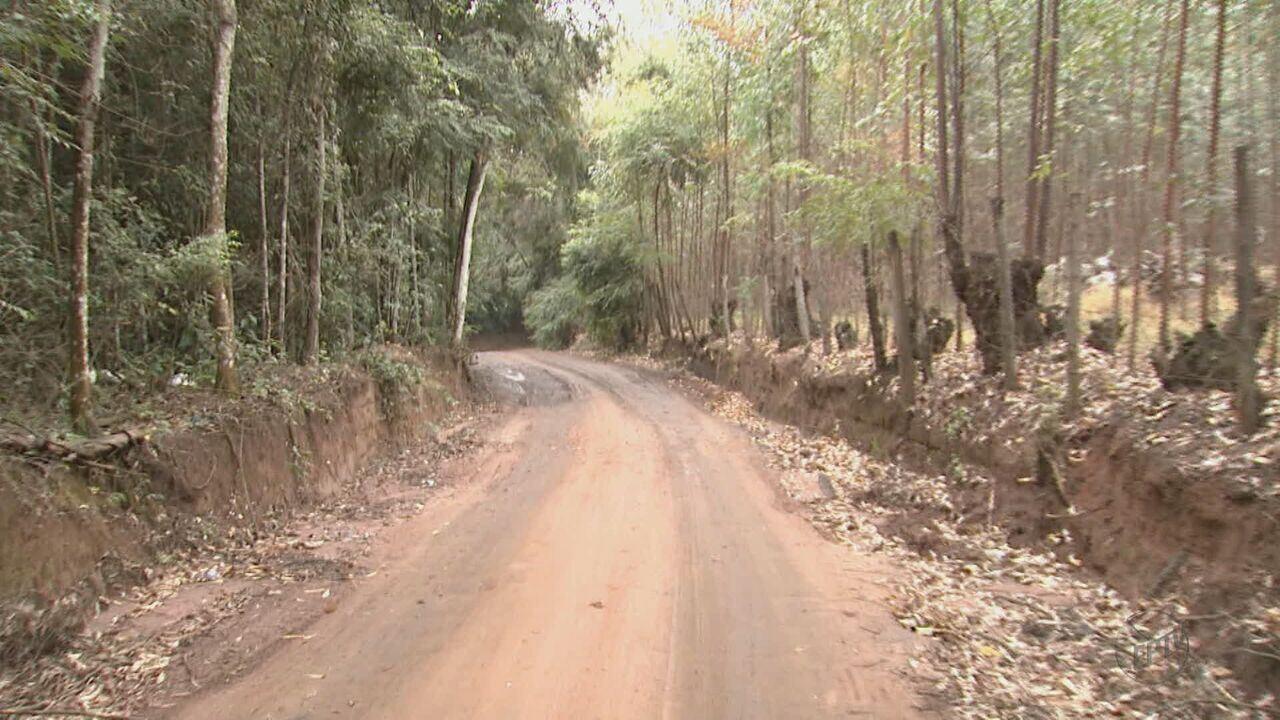 Moradores reclamam da falta de segurança na estrada do Horto Camacuã em Rio Claro, SP