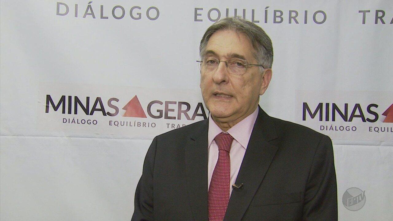 Governador Fernando Pimentel (PT) assina convênio durante visita a Varginha (MG)