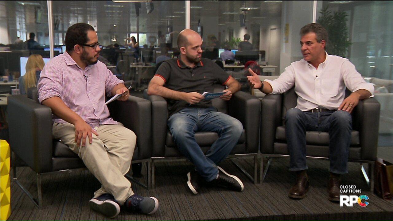 Ex-governador Beto Richa fala sobre acusações de Eduardo Lopes de Souza