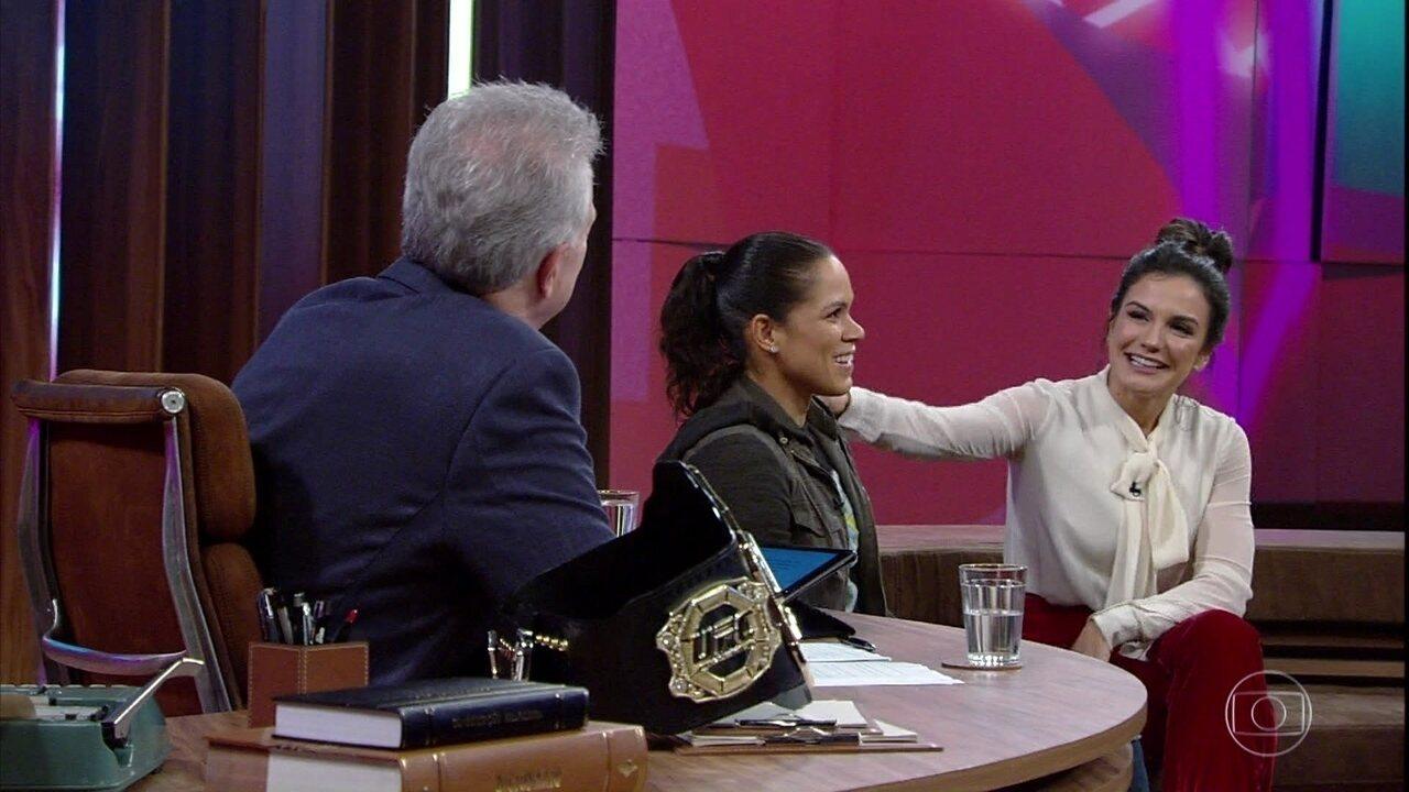 Kyra Gracie revela que abriu mão de carreira no UFC para ser mãe