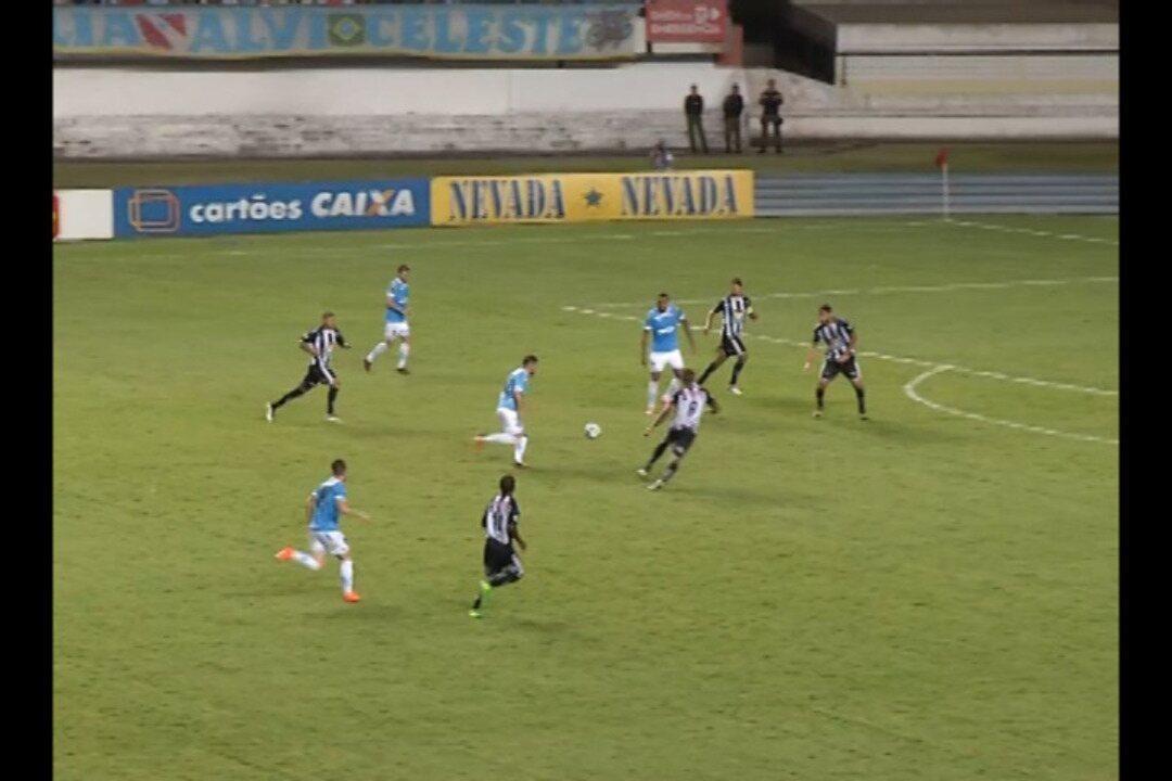 Veja os gols de Paysandu 1 x 1 Atlético-ES, no Mangueirão