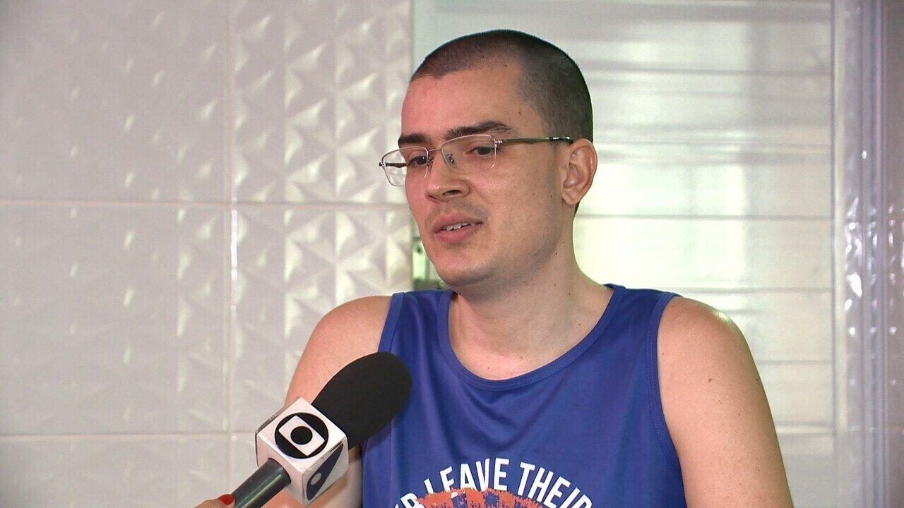 'Eu era livre', diz ciclista que ficou paraplégico após ser atropelado no ES; veja vídeo
