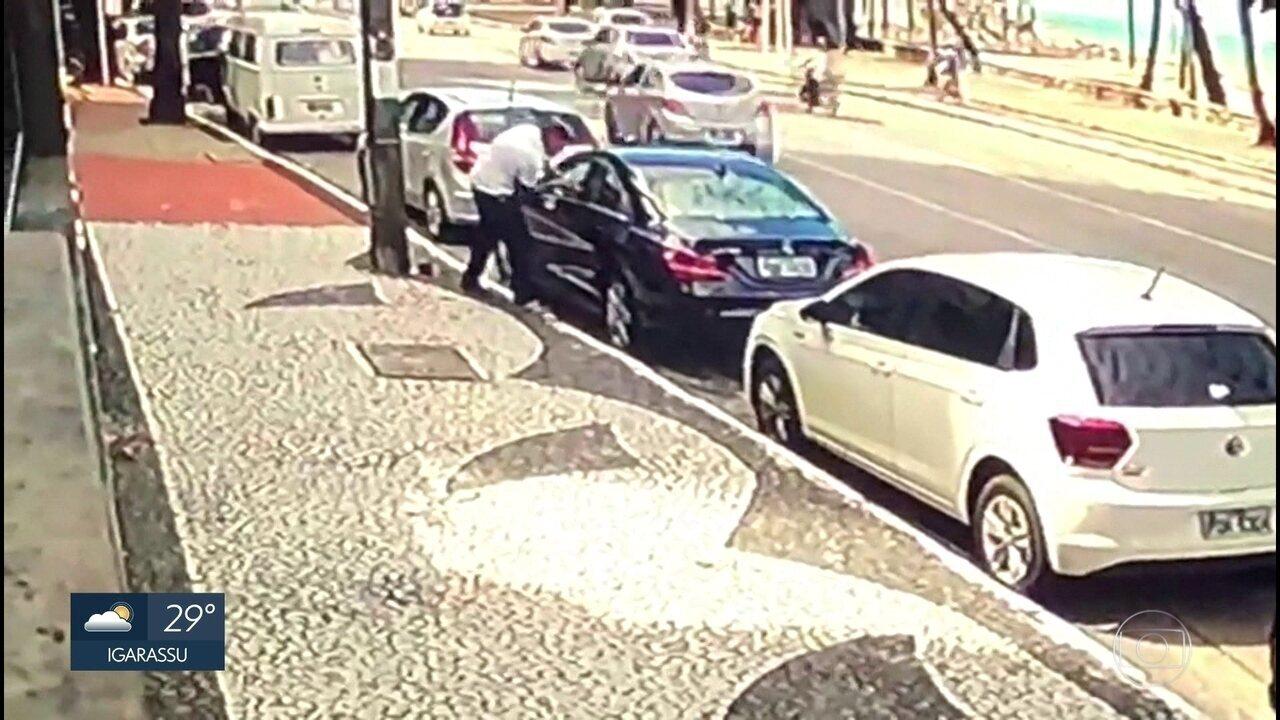 Dois são presos por integrar quadrilha que arrombava carros