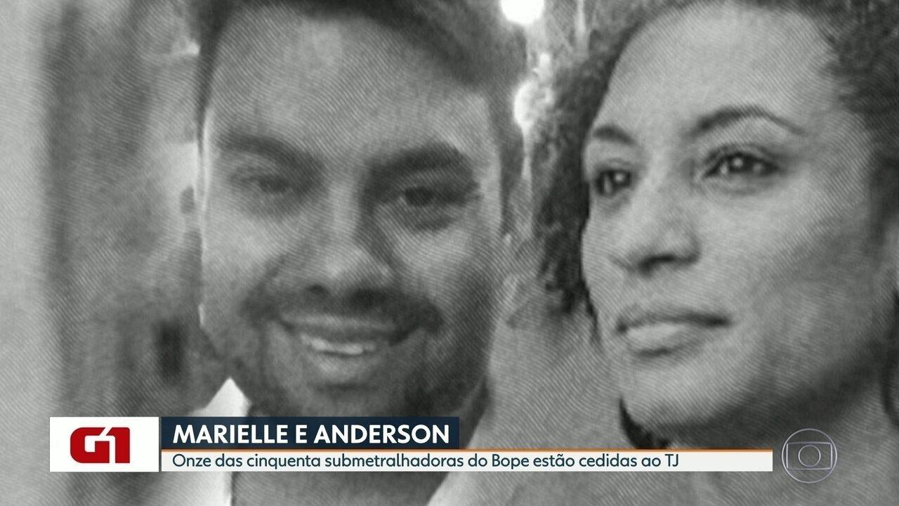 Caso Marielle: submetralhadoras da polícia vão passar por perícia técnica