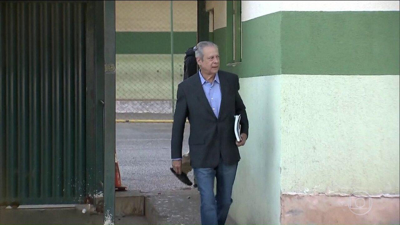 Tribunal Regional Federal da 4ª Região negou o último recurso de José Dirceu