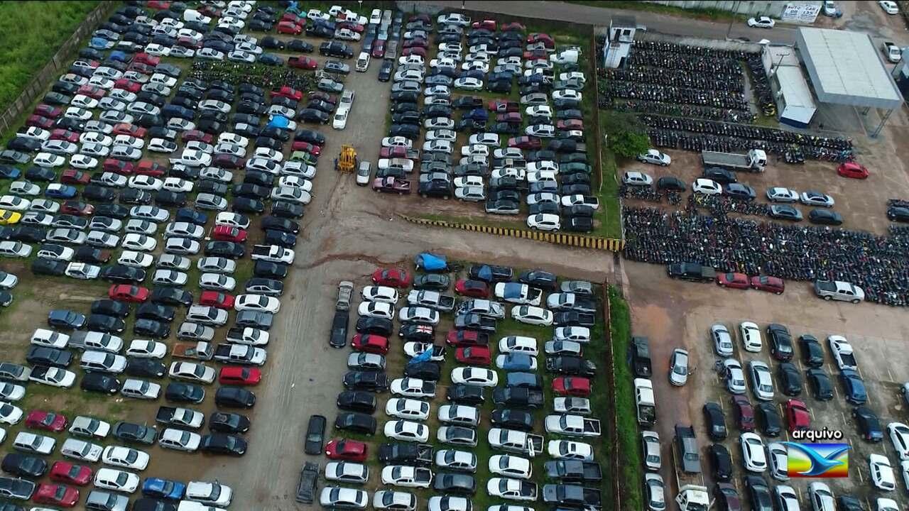 Leilão de veículos será realizado em São Luís
