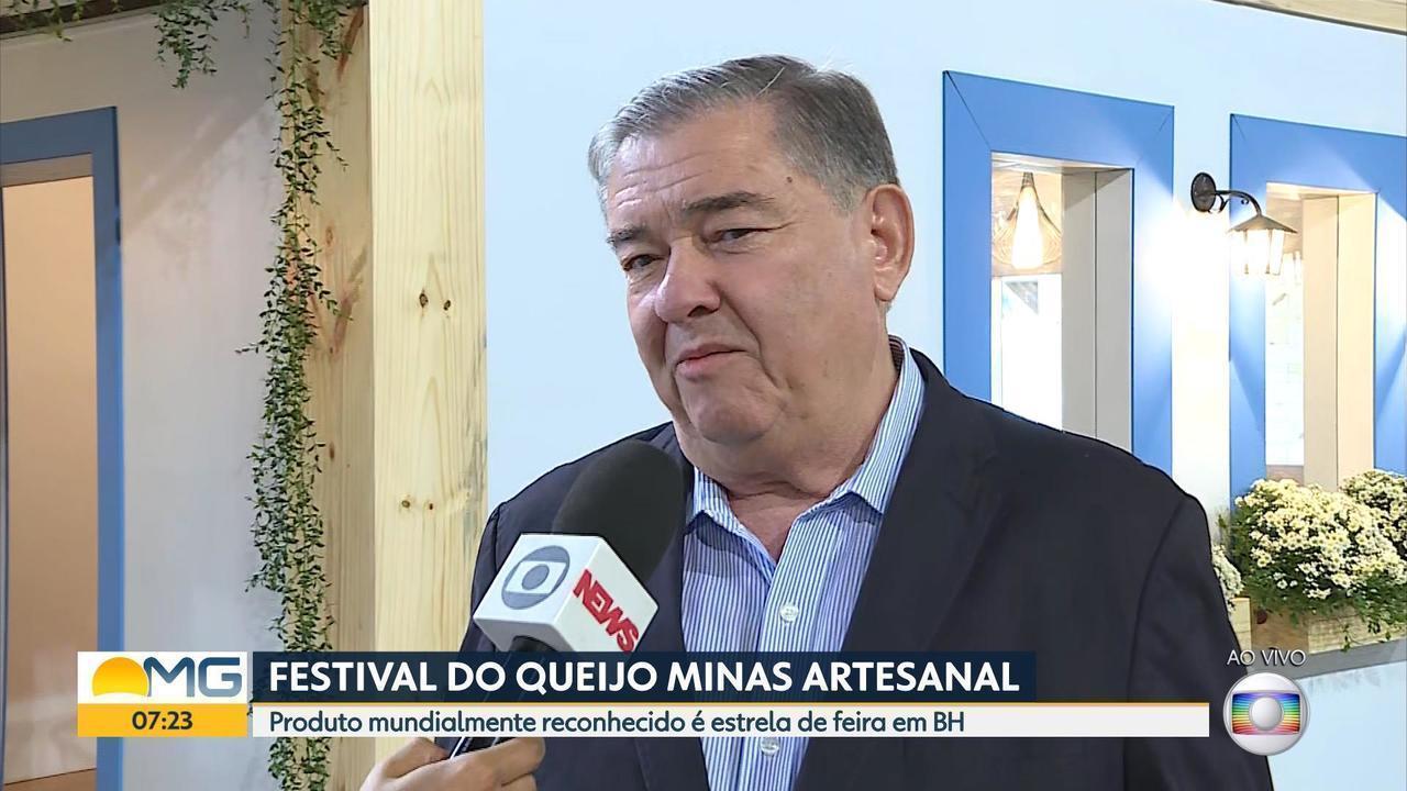 Belo Horizonte sedia 'Festival do Queijo Minas Artesanal de Leite Cru'