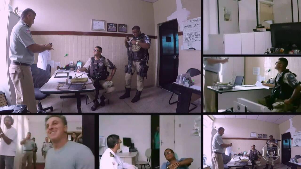 Polícia Militar da Bahia ajuda a construir o plano infalível do 'Lata Velha'