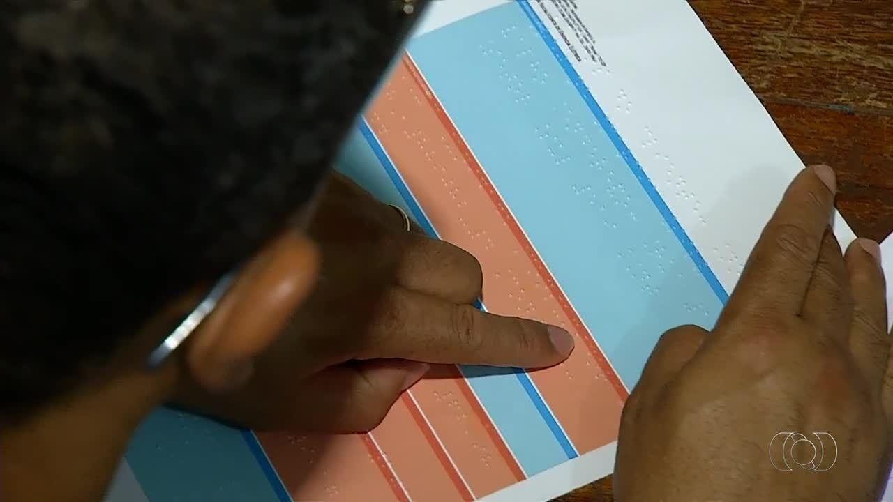 Conta de água e luz em braille está disponível para deficientes visuais no Tocantins