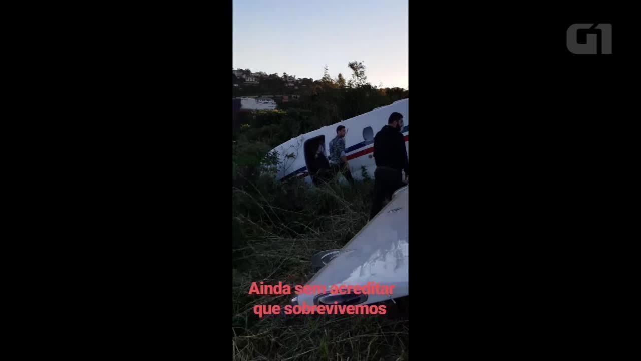 Alok posta novo vídeo de incidente com avião