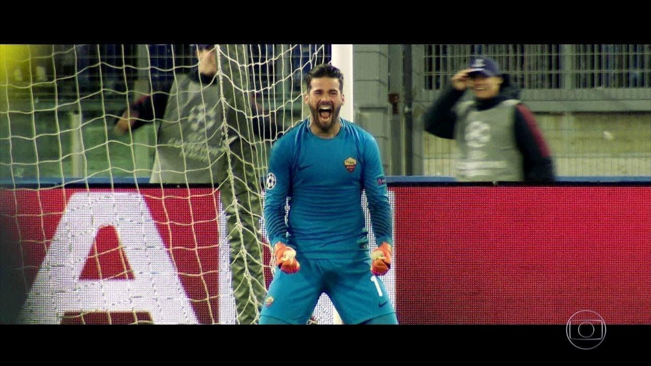Série Copa: veja o perfil do goleiro Alisson