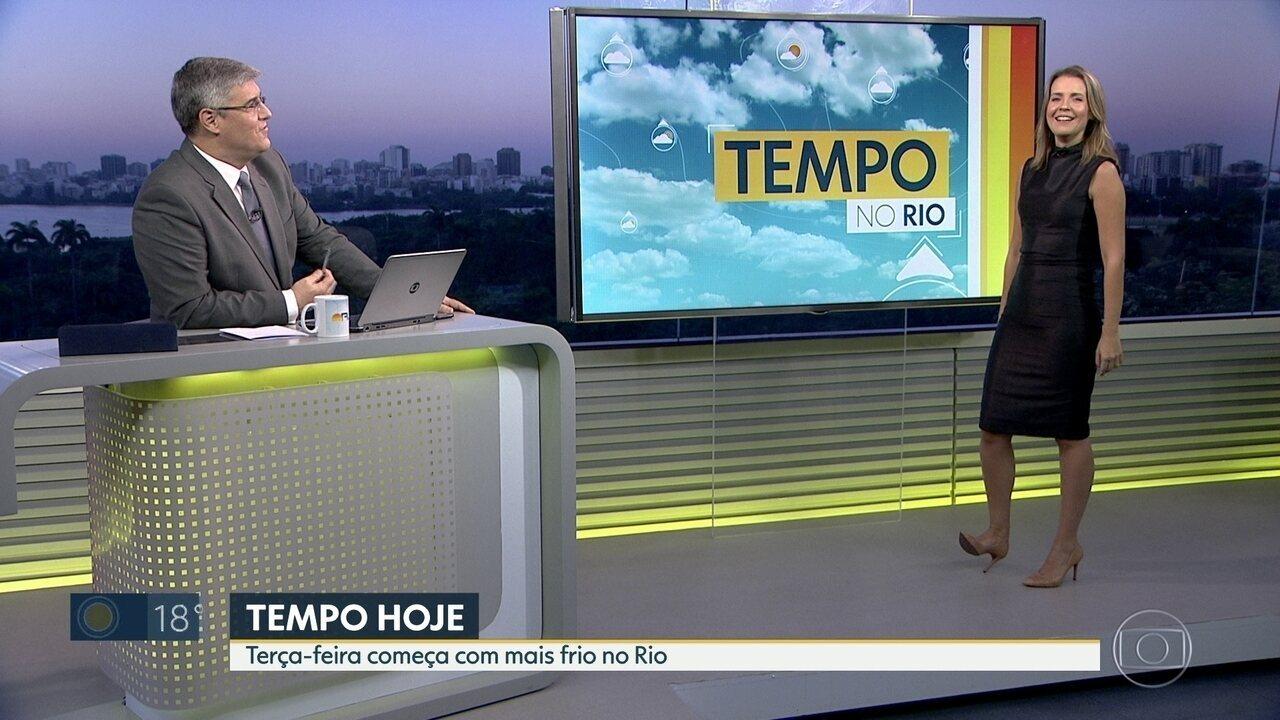 Rio de Janeiro registra madrugada mais fria do ano