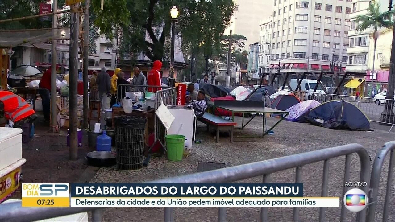 Ação de Defensorias Públicas pede atendimento emergencial a desabrigados do Paissandu