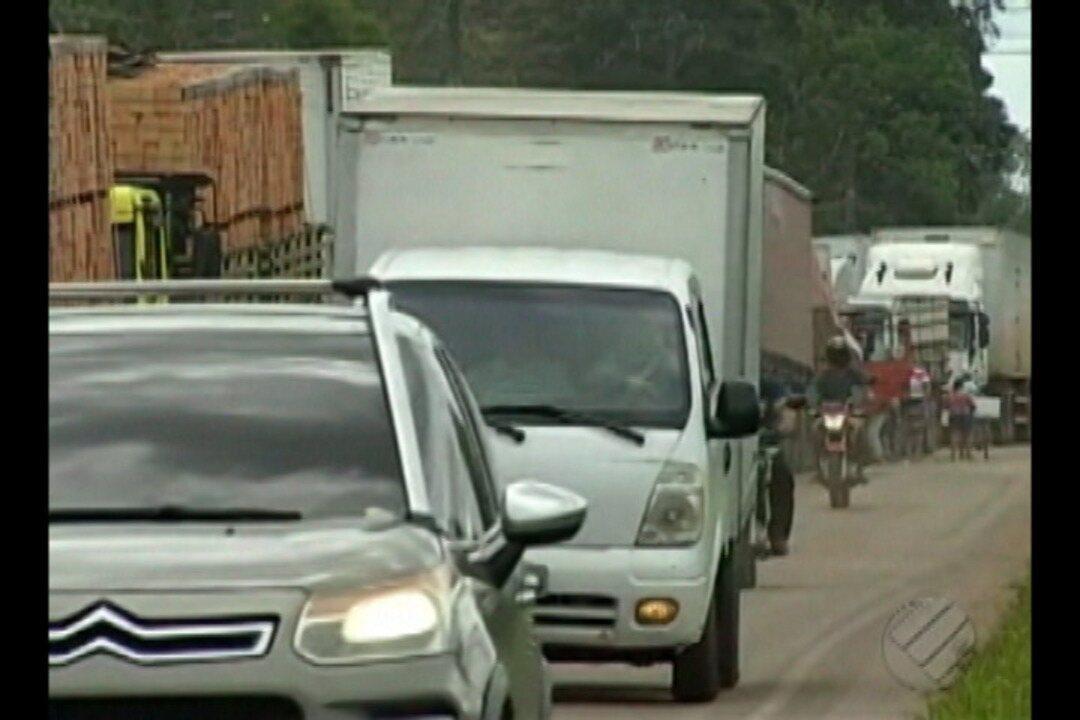 Caminhoneiros continuam protestos no Pará