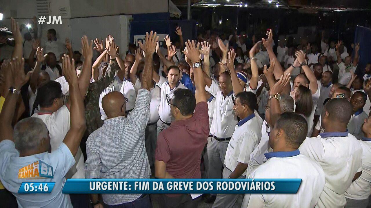 Termina a greve dos rodoviários em Salvador e região metropolitana