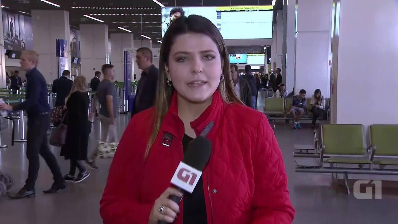 Veja impacto do quarto dia da greve dos caminhoneiros no Aeroporto de Brasília