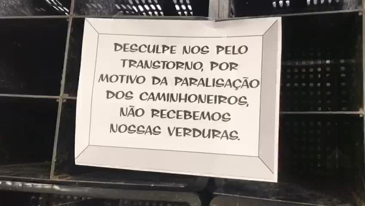 Supermercado em Botafogo pede desculpas por não ter hortaliça para vender