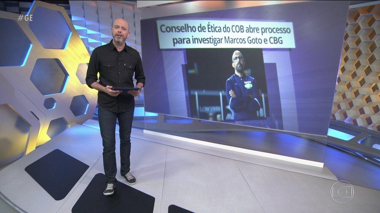 Conselho de Ética do COB investigará Marcos Goto e Confederação Brasileira de Ginástica