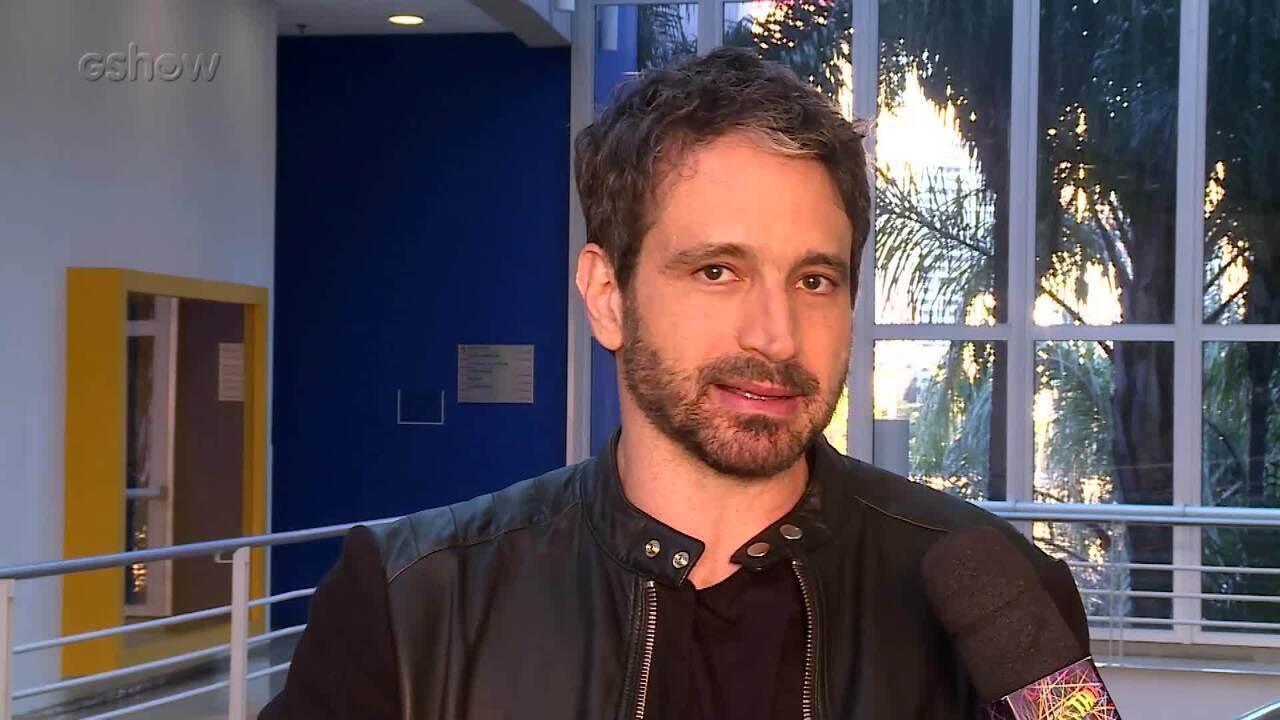 Caco Ciocler fala sobre Edgar, seu personagem em 'Segundo Sol'