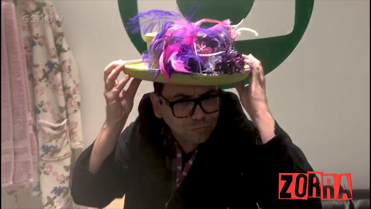 Figurinista Marcelo Martins conta como foi produzir o casamento real britânico no 'Zorra'