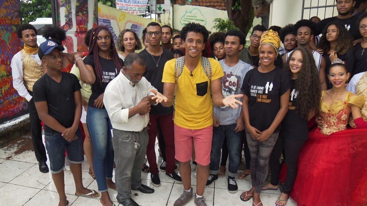 Aldri Anunciação conhece curiosidades do bairro de Marechal Rondon, no 'Vumbora'