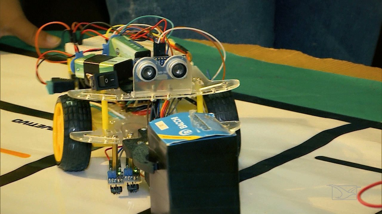 Os robôs que vão representar o Maranhão em Campeonato Internacional de Robótica
