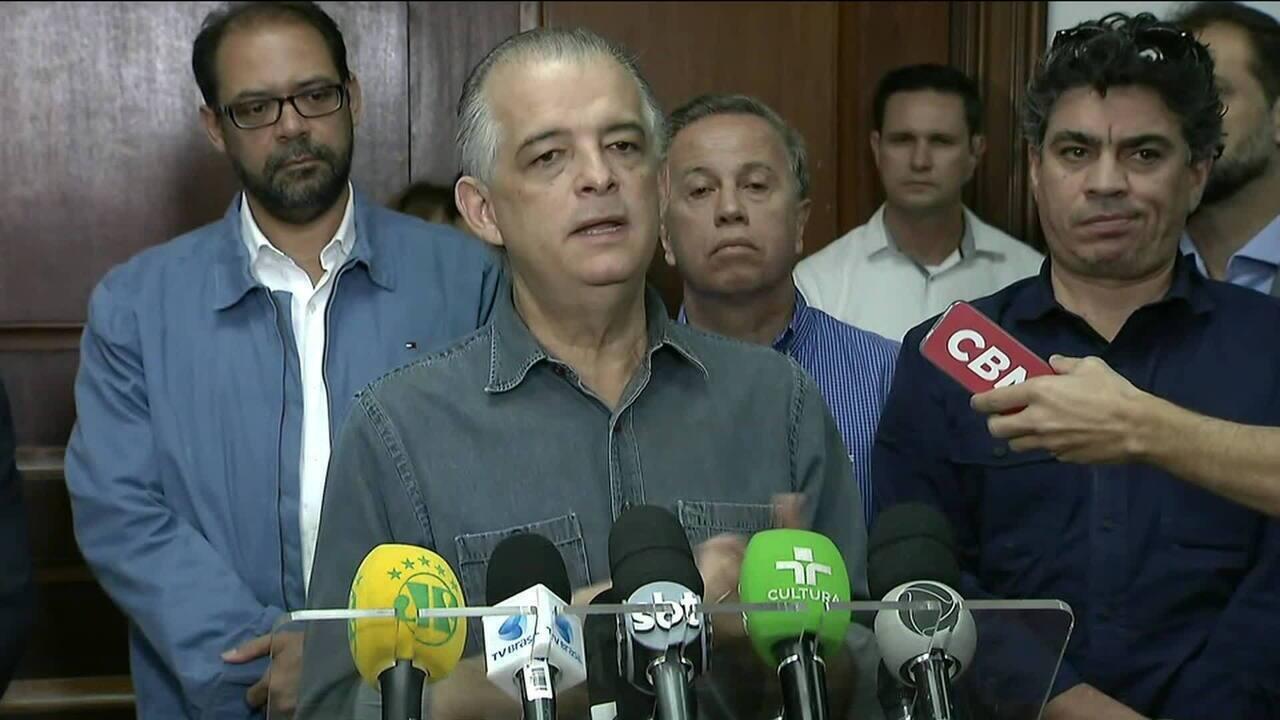 Governador de SP diz que chegou a pré-acordo com boa parte dos grevistas