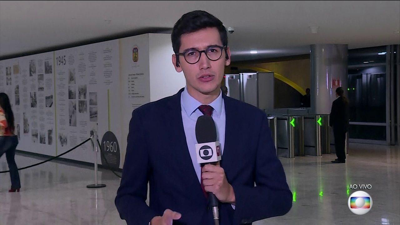 Governo recebe representantes dos caminhoneiros no Palácio do Planalto