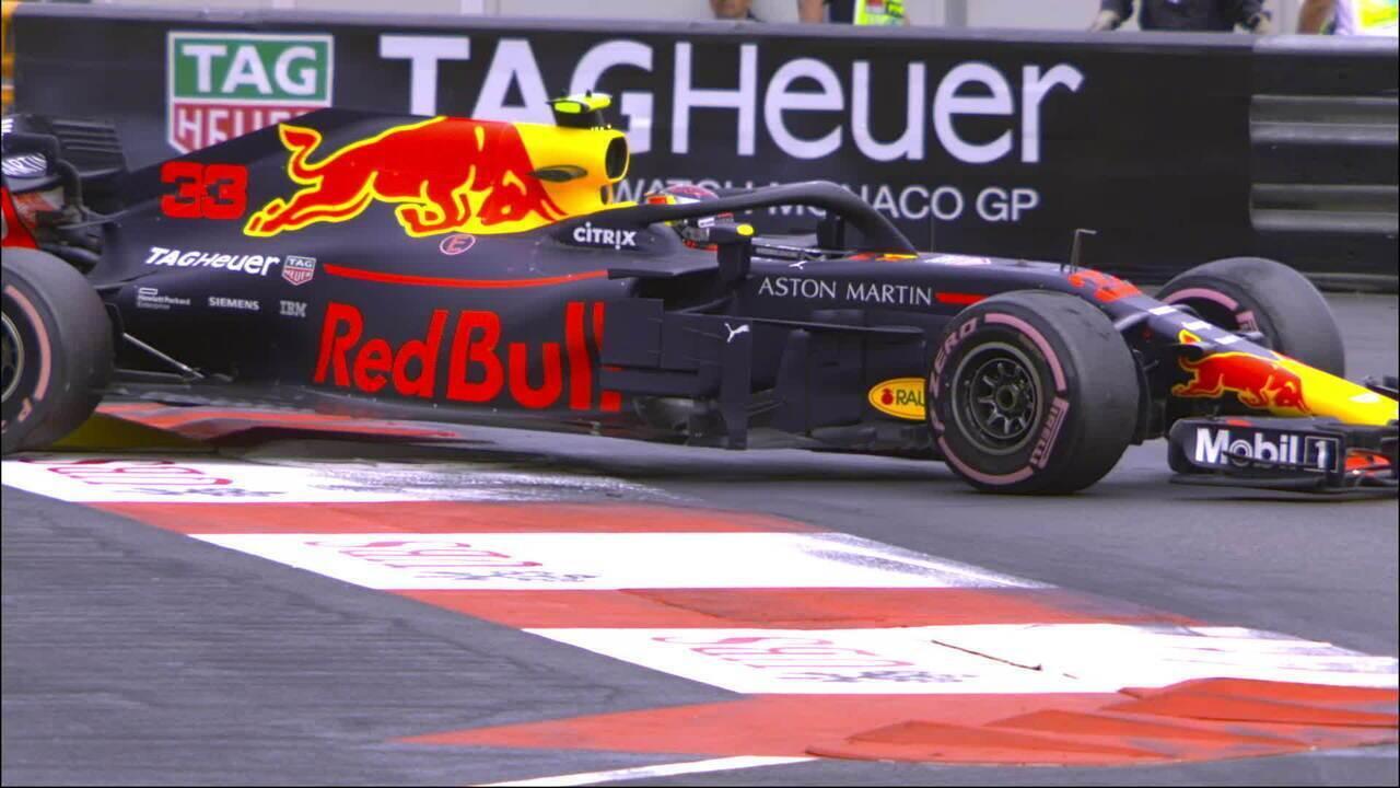 As ultrapassagens de Verstappen no GP de Mônaco