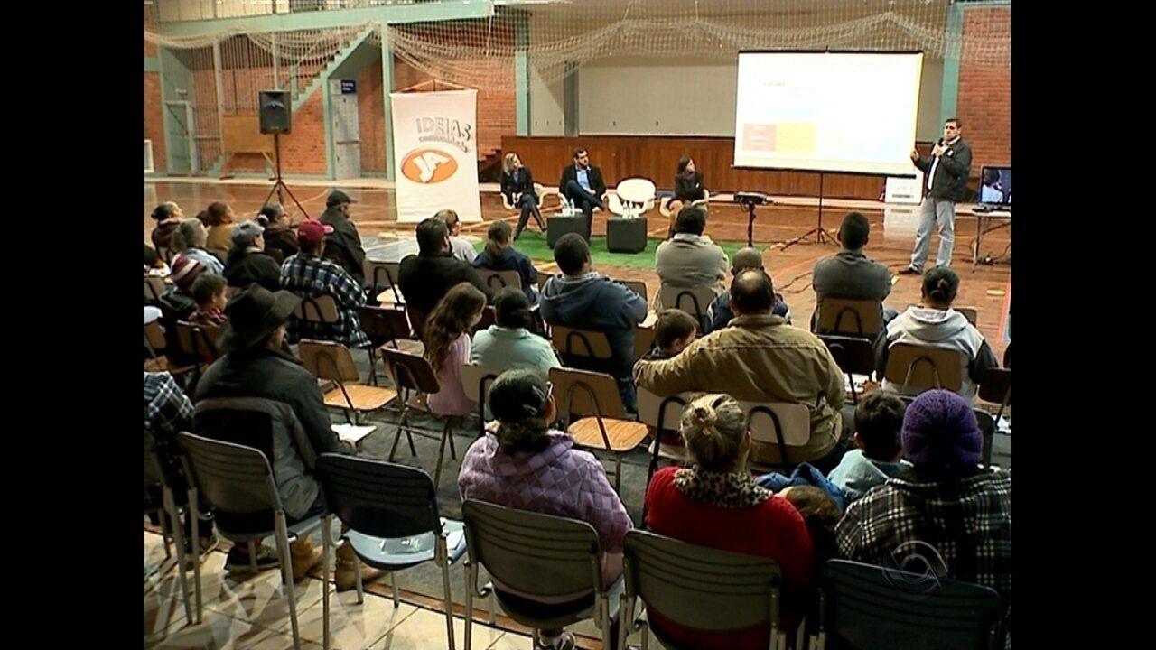 JA Ideias Comunidade fala sobre TV Digital em Santa Maria