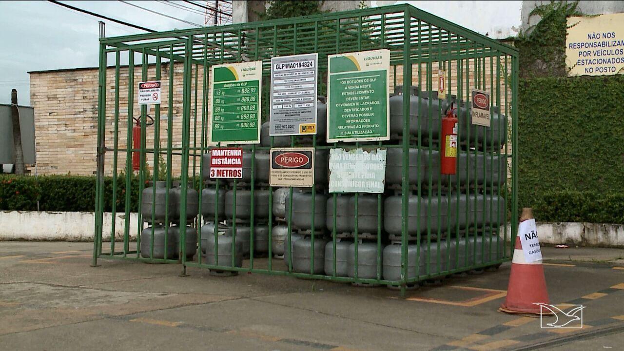 Distribuição de gás de cozinha está comprometido no Maranhão