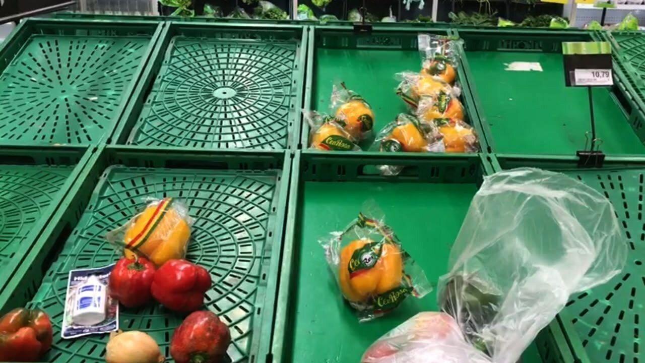 Paralisação dos caminhoneiros reflete em supermercados de Maceió