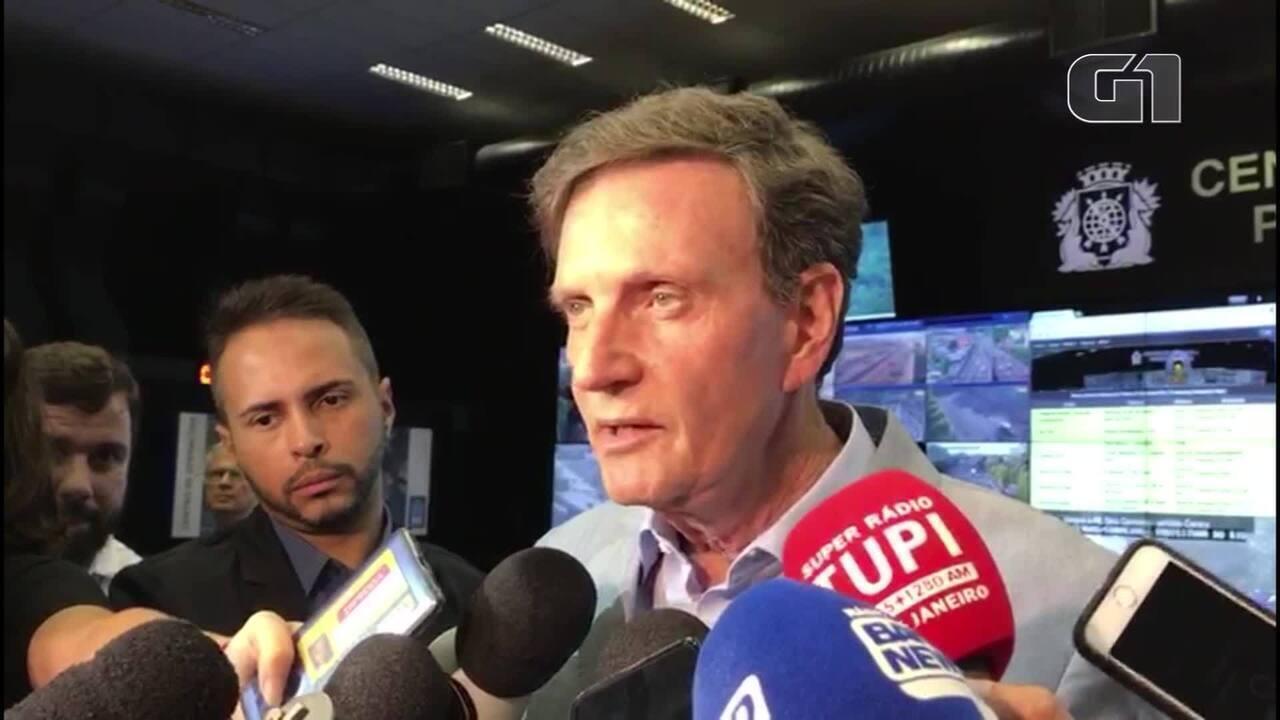 Crivella diz que Rio saiu do estado de emergência