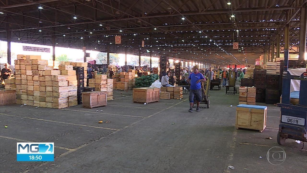 Mercadorias começam a chegar na Ceasa, na Grande BH