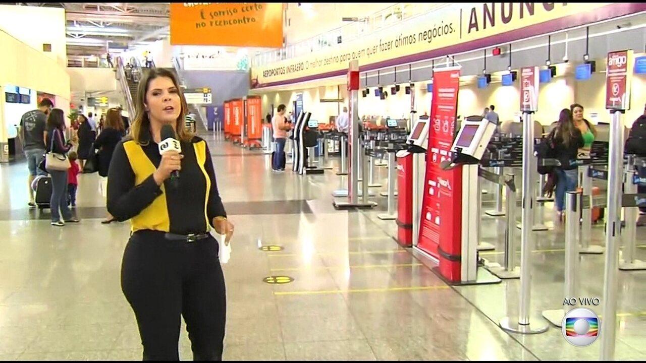 Infraero: cinco aeroportos ainda estão sem combustível